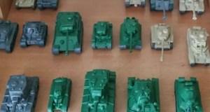 В Севастополе открывается выставка... моделей танков