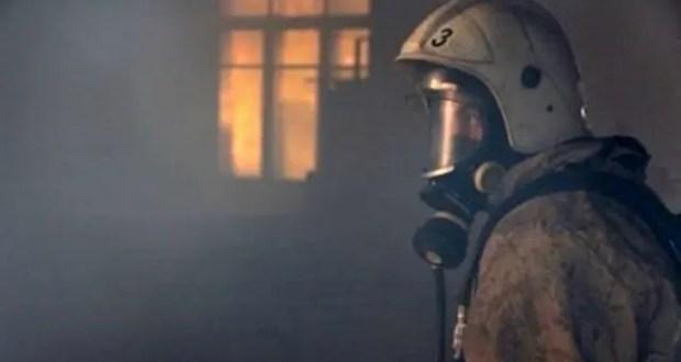 На пожаре в Керчи погиб человек