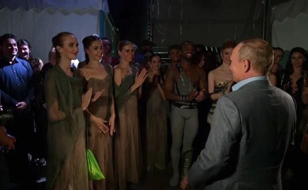 Владимир Путин побывал на открытии III Международного фестиваля оперы и балета «Херсонес»