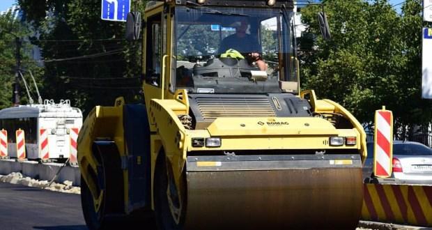 «Безопасные и качественные автомобильные дороги» в Симферополе: начался ремонт на 14 улицах