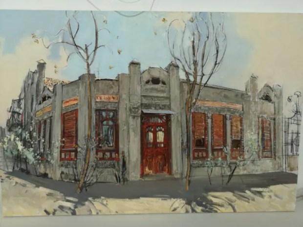 В галерее Никитского ботанического сада - тематическая выставка живописи
