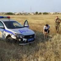 """Погоня, стрельба и таран авто полиции в Евпатории. """"Боевик"""" устроил житель Коми"""