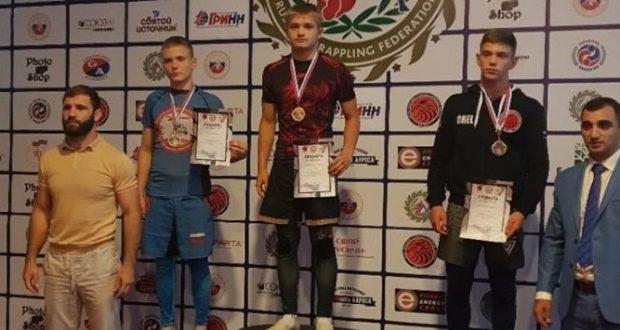 Максим Пилержинский из Евпатории - победитель первенства России по спортивной борьбе грэпплинг
