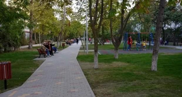 В Евпатории после реконструкции открыли сквер Ветеранов