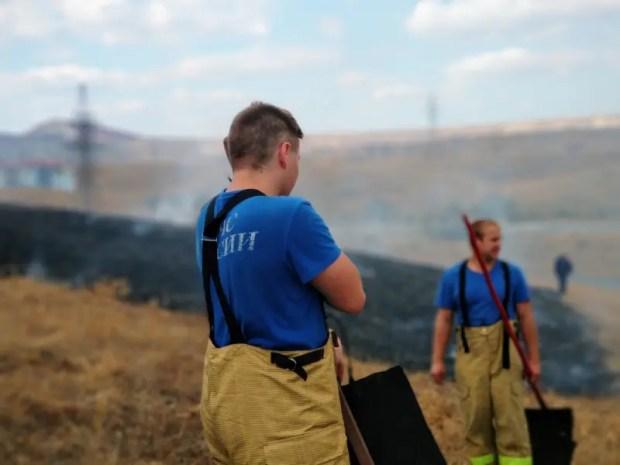 В минувшие сутки в Крыму ликвидировали 20 пожаров