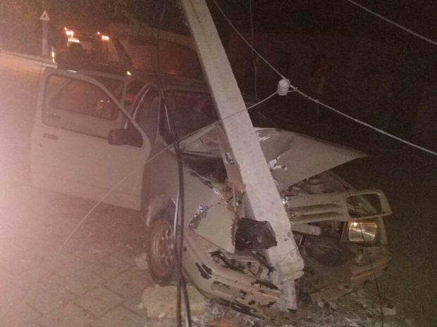 Вечернее ДТП в Керчи: «Форд», женщина, столб
