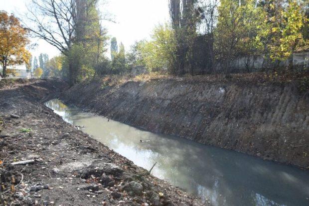 Очистка русла Малого Салгира в Симферополе завершена