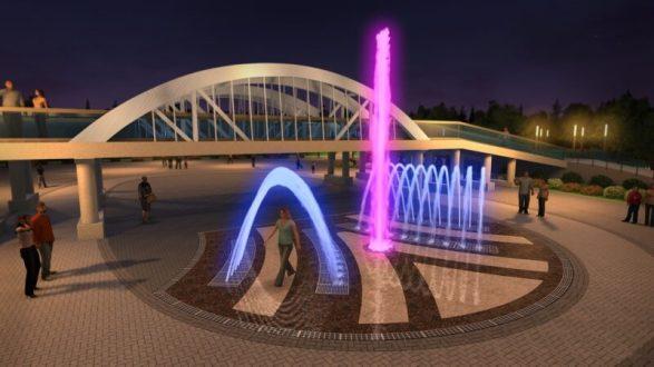 В Комсомольском парке Керчи появится «поющий фонтан»