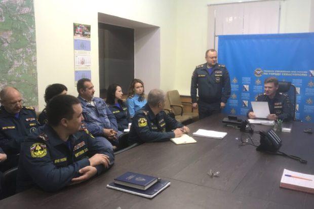 Валерий Зеленин - новый первый заместитель начальника ГУ МЧС России в Севастополе