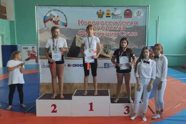 Юные сумоисты из Ялты на турнире в Новороссийске завоевали 15 медалей