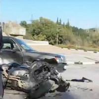 Субботнее ДТП на трассе «Алушта – Ялта»: не разминулись мотоцикл и «Мерседес»