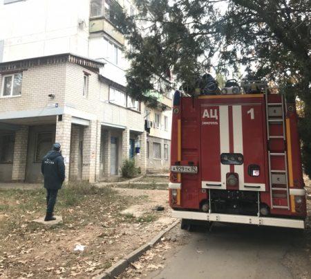 Пожар в Симферопольском районе - эвакуированы 7 человек