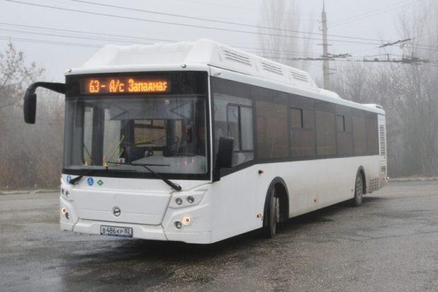 На симферопольской маршрут №63 вышли 10 новых автобусов