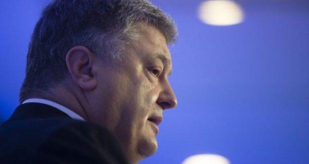 О себе напомнил Порошенко: говорит, мол, Крым «вернется»