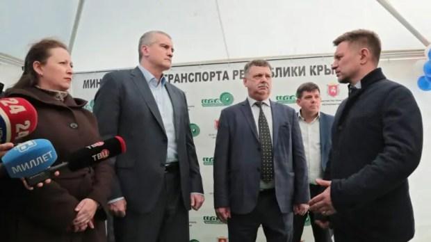 В Крыму после ремонта открыли дорогу «Саки – Орловка»