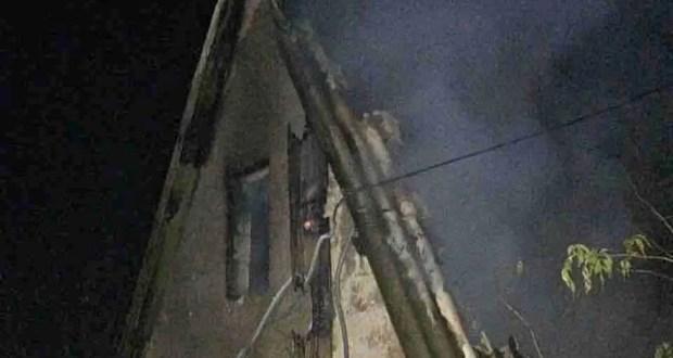 Вечерний пожар под Симферополем: погиб человек