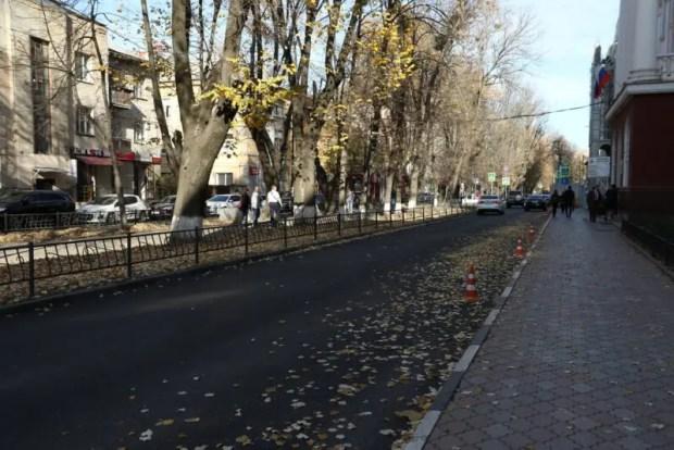 Власти Симферополя мониторят качество выполнения дорожных работ