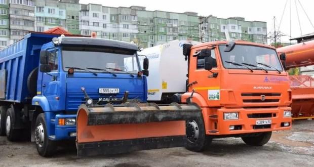 Коммунальщики уверяют: спецтехника в Симферополе к зиме готова