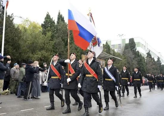 На Черноморском флоте отметили День морской пехоты