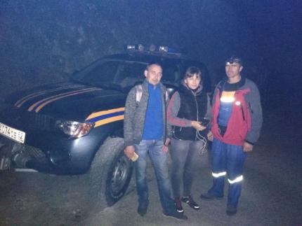Инцидент в Крыму: в районе ущелья Марьям-Дере заблудились туристы