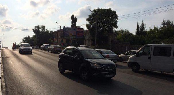 Асфальт на спуске Котовского уложен, движение открыто
