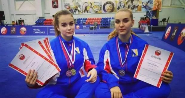 У севастопольских ушуисток - пять медалей Кубка России и Всероссийского турнира