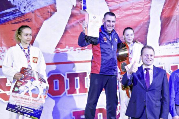 Севастопольские девушки-борцы - на пьедестале чемпионата России по рукопашному бою