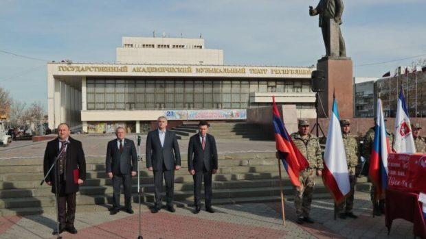 В Крыму простились с останками бойцов, погибших в ходе боев в Великую Отечественную войну