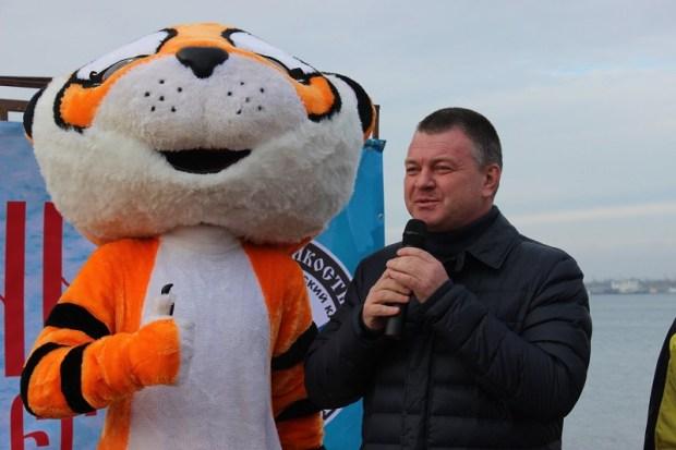 Керченские «моржи» присоединились к акции «Закаленная Россия - здоровая страна!»