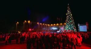 """В """"Артеке"""" новогоднюю ёлку зажгли представители 70 регионов России и 14 стран мира"""