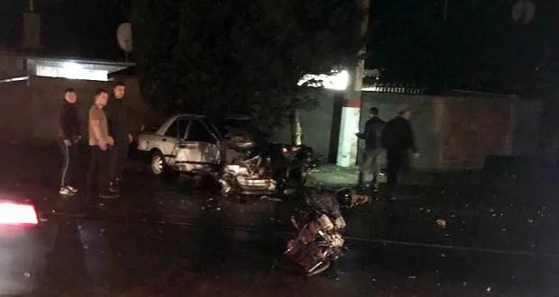 ДТП на въезде в Алушту: ехал-ехал… и вдруг столб