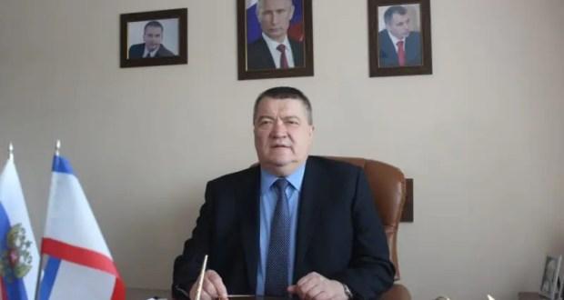 Поздравление министра ЧС Республики Крым Сергея Шахова с Новым годом