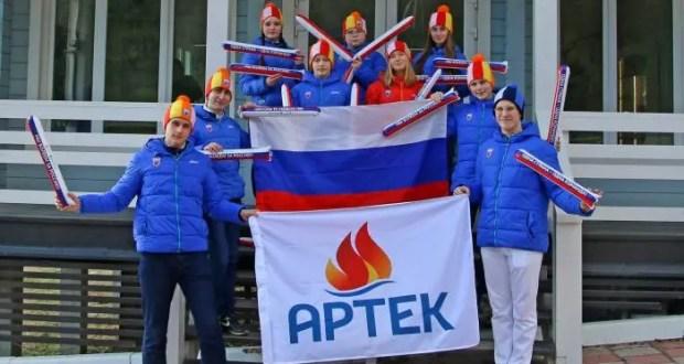 """В МДЦ """"Артек"""" развернут самый большой флаг РФ. В поддержку российских спортсменов"""