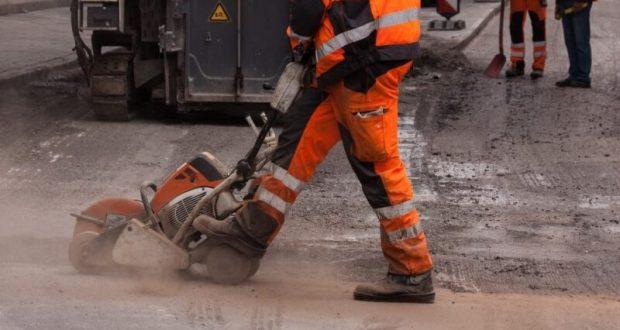 В Симферополе завершают ремонт улицы Маяковского