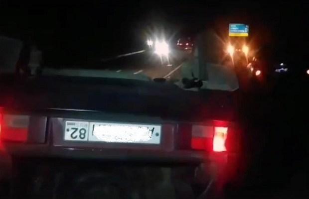 День «перевертышей» на дорогах Крыма. Вроде и гололеда нет…