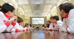 В МДЦ «Артек» состоялся телемост с антарктической станцией «Прогресс»
