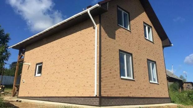 Фасадные панели — замена камню, плитке, кирпичу