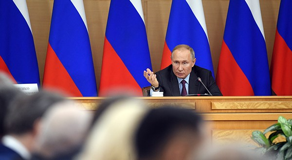 Владимир Путин поддержал законопроект «Единой России» о народном бюджетировании