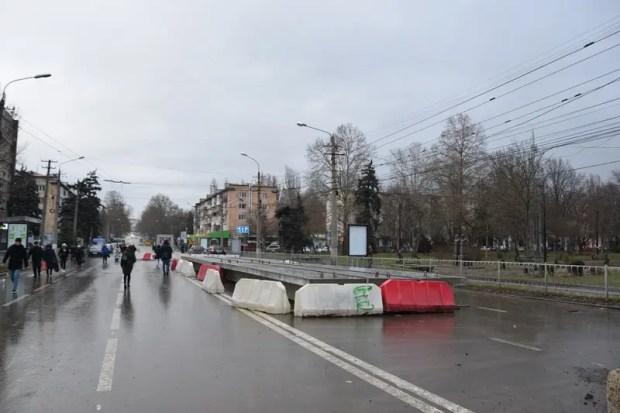 Как идет ремонт моста на улице Гагарина в Симферополе