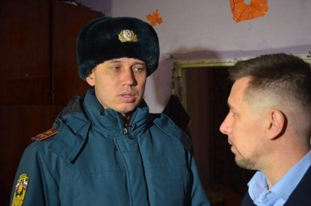 В Севастополе в домах многодетных семей устанавливают дымовые датчики-извещатели