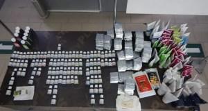 33 кг БАДов и косметических средств без декларирования попыталась ввезти в Крым гражданка Украины