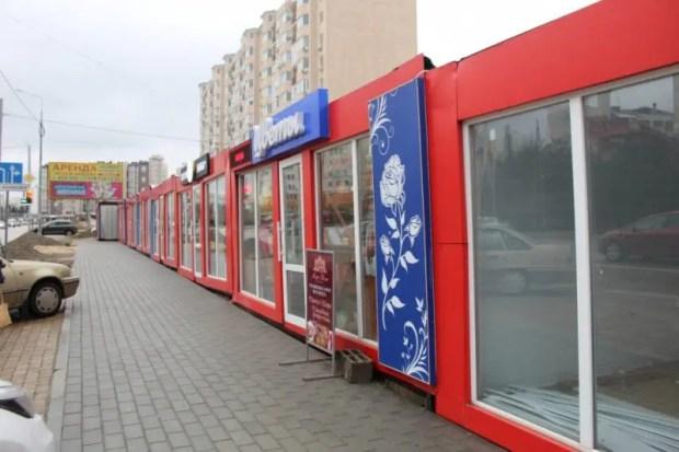 На Столетовском проспекте Севастополя павильоны вне закона. Будут штрафы и демонтаж