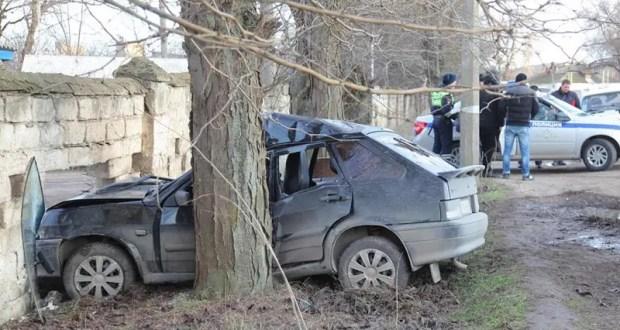 ДТП в Керчи: двое пострадавших