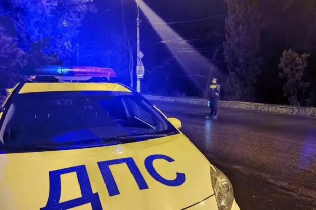 """Акция """"Нетрезвый водитель"""" в Ялте - задержаны шесть водителей"""