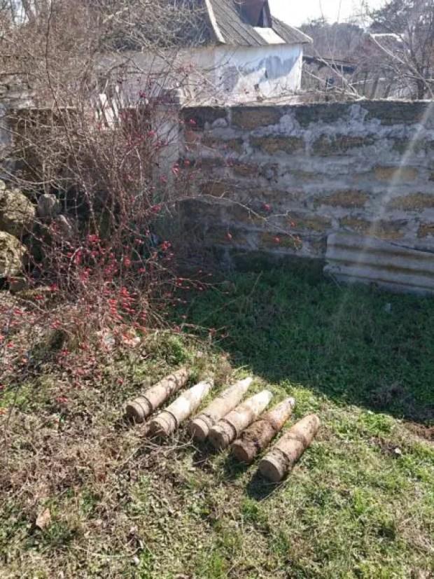 Жительница Севастополя на огороде обнаружили боеприпасы времён ВОВ