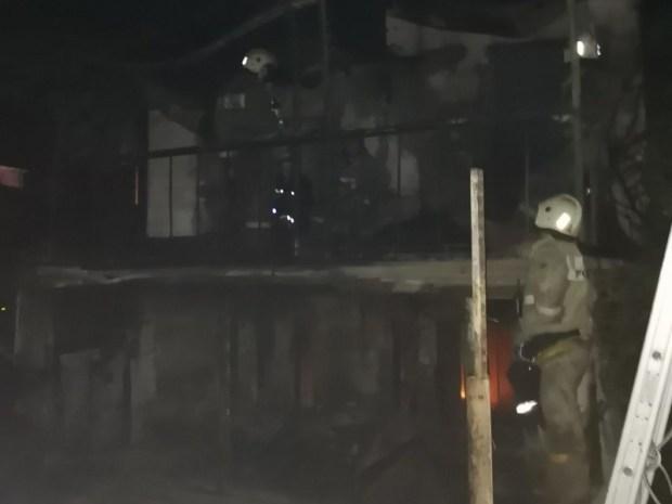 Севастопольские огнеборцы ликвидировали пожар в садовом доме в Гагаринском районе