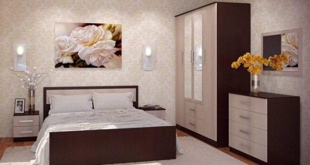 Цвета для необычной спальни