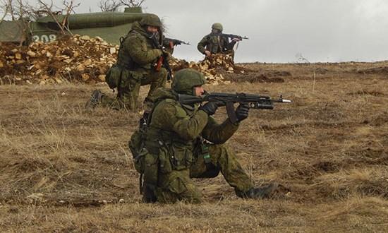 В Крыму завершилось учение с подразделениями соединения береговой обороны