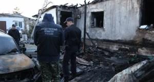 Возбуждено уголовное дело по факту гибели семьи из четырех человек на пожаре в Симферополе