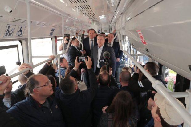 Новые трамваи в Евпатории начнут ходить уже в этом году